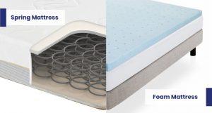 perbedaan kasur busa dengan spring bed