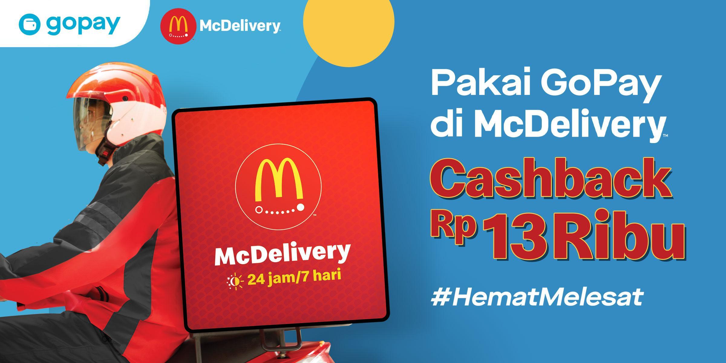 Mcdonald S Indonesia Gopay Cashback 13 000 Mulai 1 Oktober 2019