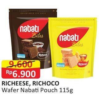 Promo Harga NABATI Wafer Richeese, Richoco 125 gr - Alfamart