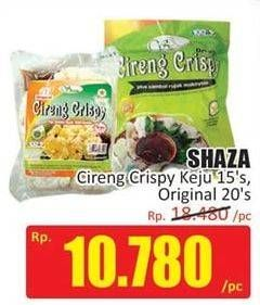 Promo Harga SHAZA Cireng Crispy Keju, Original 15 pcs - Hari Hari