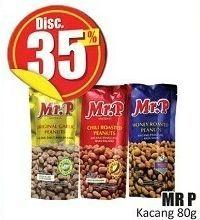 Promo Harga MR.P Peanuts 80 gr - Hari Hari