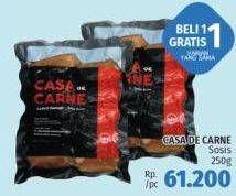 Promo Harga CASA DE CARNE Chicken Sausage All Variants 250 gr - LotteMart