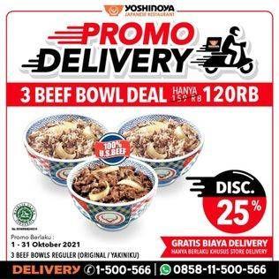 Promo Harga YOSHINOYA Beef Bowl Regular Original, Yakiniku  - Yoshinoya