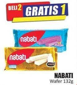 Promo Harga NABATI Wafer 132 gr - Hari Hari