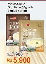 Promo Harga MAMASUKA Sup Krim All Variants 55 gr - Indomaret