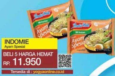 Promo Harga INDOMIE Mi Kuah Ayam Spesial 56 gr - Yogya