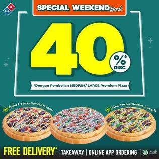 Promo Harga DOMINOS Premium Pizza  - Domino Pizza