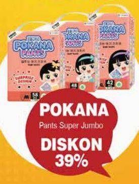 Promo Harga POKANA Baby Pants M58, L48, XL42 42 pcs - Yogya