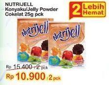 Promo Harga NUTRIJELL Jelly Powder Coklat 30 gr - Indomaret