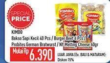 Promo Harga KIMBO Kimbo Bakso Sapi/Beef Burger/Probites  - Hypermart