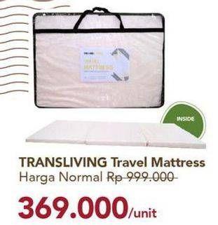 Promo Harga TRANSLIVING Travel Mattress  - Carrefour