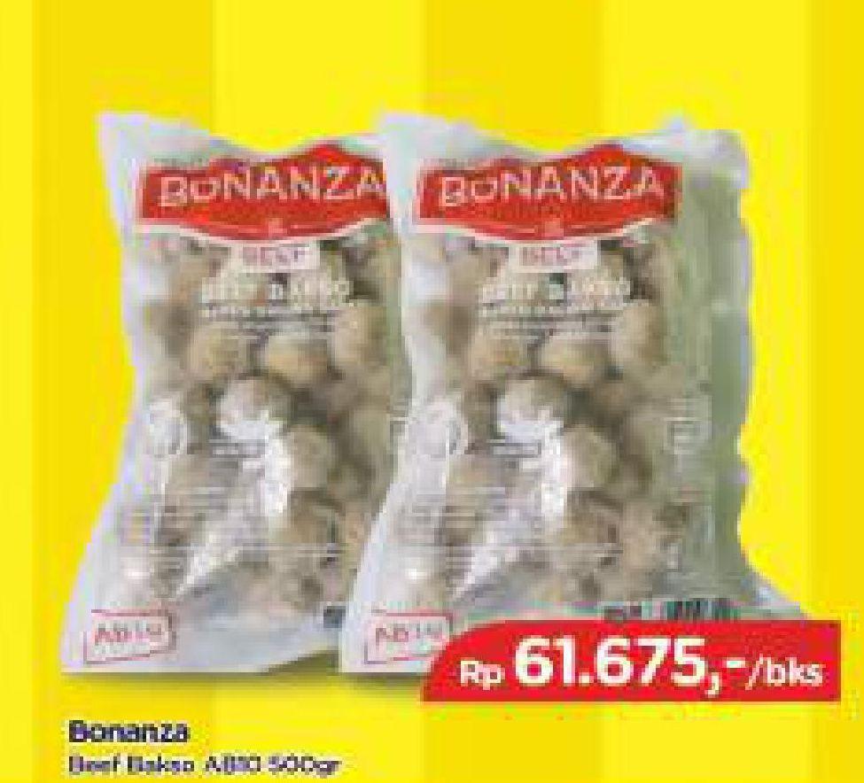 Promo Harga BONANZA Beef Bakso 500 gr - TIP TOP