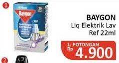 Promo Harga BAYGON Liquid Electric Refill Lavender 22 ml - Alfamidi