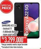 Promo Harga SAMSUNG Galaxy A22 5G  - Hypermart