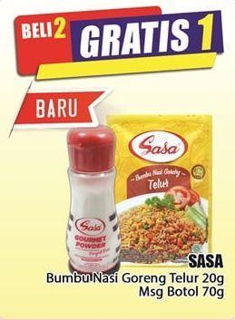 Promo Harga SASA Sasa  - Hari Hari