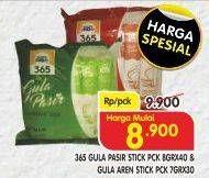 Promo Harga 365 365 Gula Stick  - Superindo
