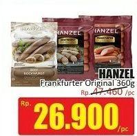 Promo Harga HANZEL Frankfurter Original 360 gr - Hari Hari