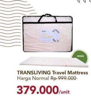 Promo Harga TRANSLIVING Travel Mattress All Variants  - Carrefour