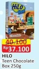 Promo Harga HILO Teen Chocolate 250 gr - Alfamart