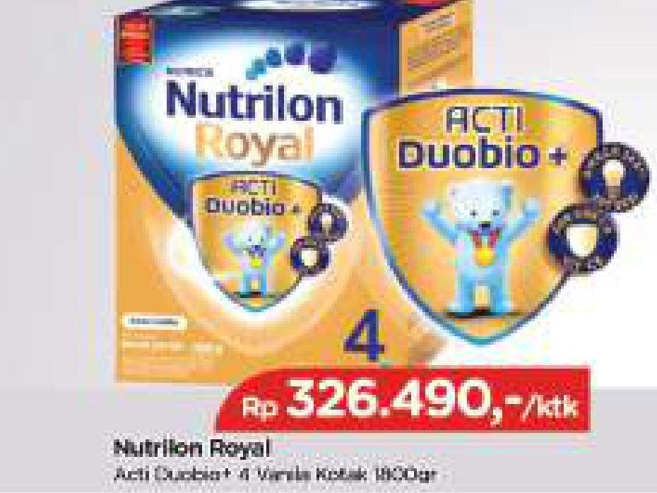 Promo Harga NUTRILON Royal 4 Susu Pertumbuhan Vanila 1800 gr - TIP TOP