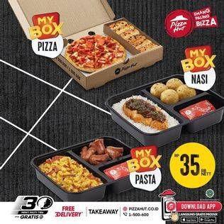 Promo Harga PIZZA HUT MyBox Nasi, Pizza  - Pizza Hut