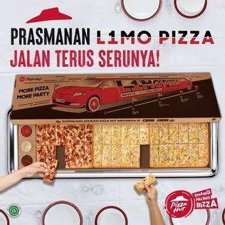 Promo Harga PIZZA HUT L1mo Pizza  - Pizza Hut