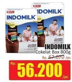 Promo Harga INDOMILK Susu Bubuk Cokelat 800 gr - Hari Hari