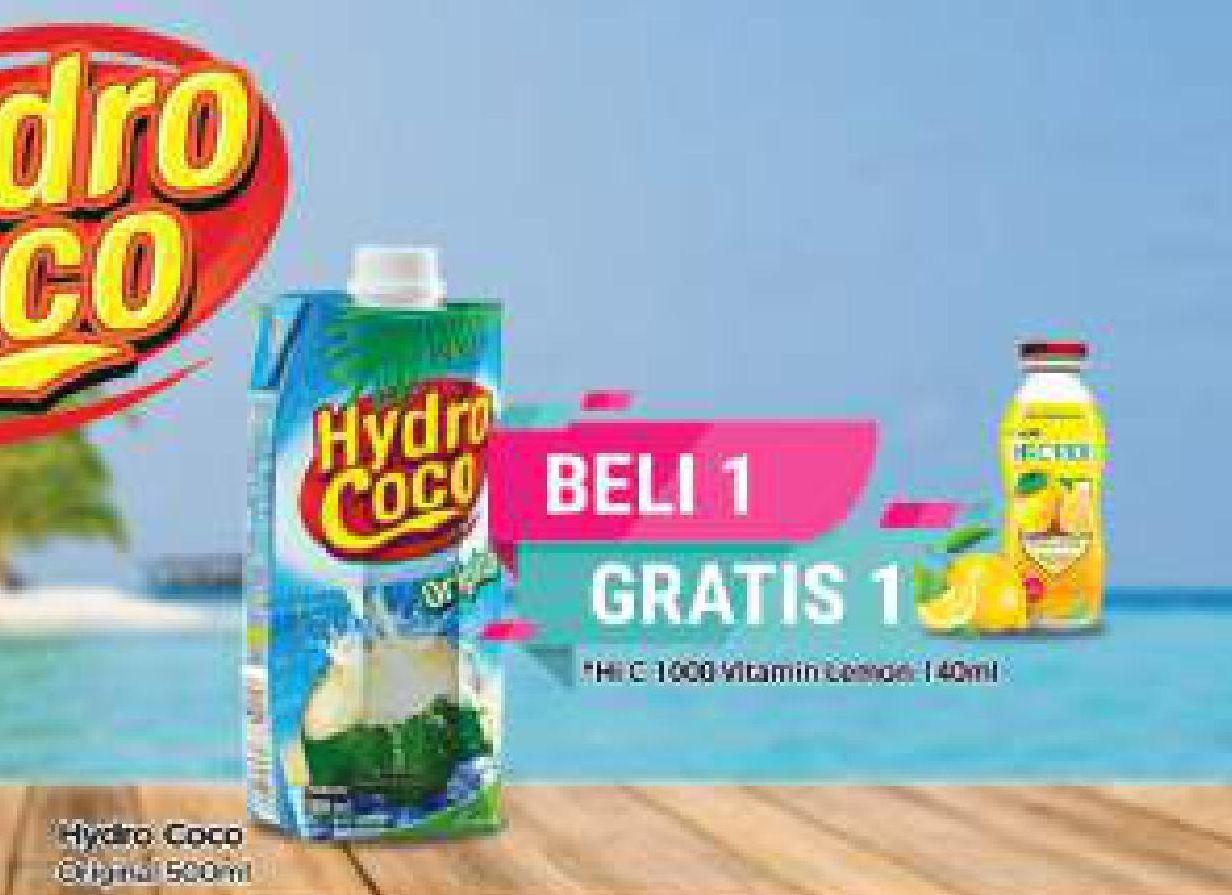 Promo Harga HYDRO COCO Minuman Kelapa Original 500 ml - TIP TOP
