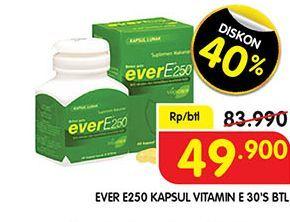 Promo Harga EVER E250 Suplemen Makanan 30 pcs - Superindo