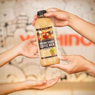Promo Harga YOSHINOYA Brown Sugar Coffee Milk 1 ltr - Yoshinoya