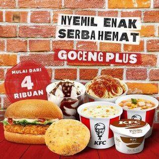 Promo Harga KFC KFC Goceng Plus  - KFC