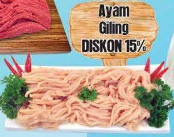 Promo Harga Daging Giling Ayam  - Yogya