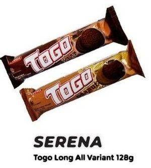 Promo Harga SERENA TOGO Biskuit Cokelat All Variants 128 gr - Yogya