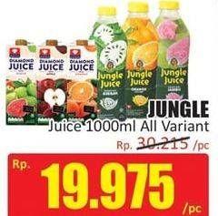 Promo Harga DIAMOND Jungle Juice All Variants 1000 ml - Hari Hari
