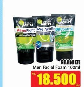 Promo Harga GARNIER MEN GARNIER MEN Facial Foam 100ml  - Hari Hari