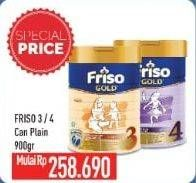 Promo Harga FRISO Friso Gold 3/4 Susu Pertumbuhan  - Hypermart