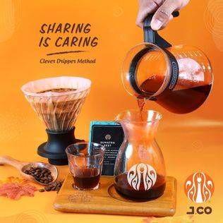Promo JCO Buy 1 Get 1 Manual Brew Clever Dripper Method