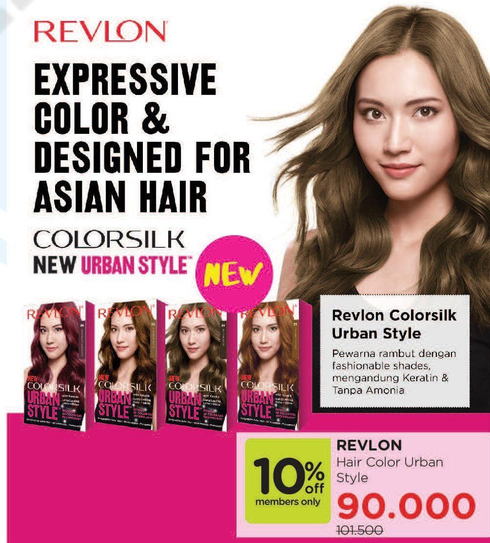 Promo Harga REVLON Hair Color All Variants  - Watsons