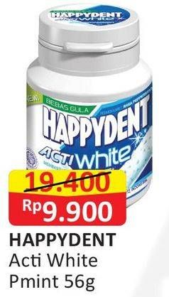 Promo Harga HAPPYDENT Xpert Peppermint 44 pcs - Alfamart