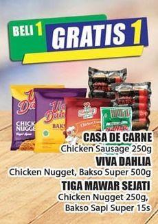 Promo Harga CASA DE CARNE Casa De Carne/ Viva Dahlia/ Tiga Mawar Sejati  - Hari Hari