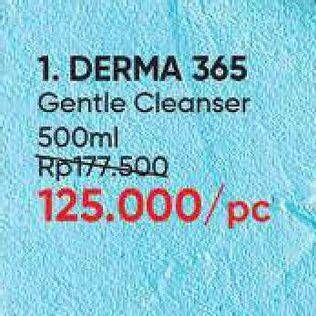 Promo Harga DERMA 365 Gentle Cleanser 500 ml - Guardian