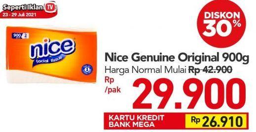 Promo Harga NICE Facial Tissue 900 gr - Carrefour