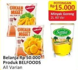 Promo Harga BELFOODS Nugget All Variants 250 gr - Alfamart