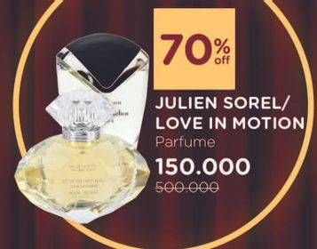 LOVE IN MOTION Diamond Pour Femme 100 ml Diskon 70%, Harga Promo Rp150.000, Harga Normal Rp500.000
