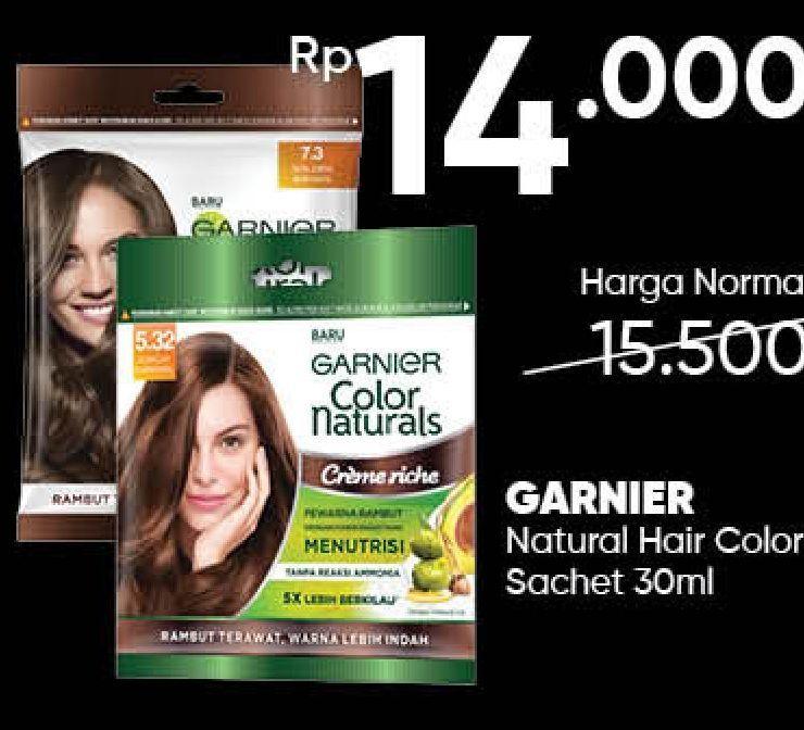 Promo Harga GARNIER Hair Color 6.64 Merah Berry 40 ml - Guardian