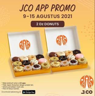 Promo Harga JCO Donut Lusin  - JCO