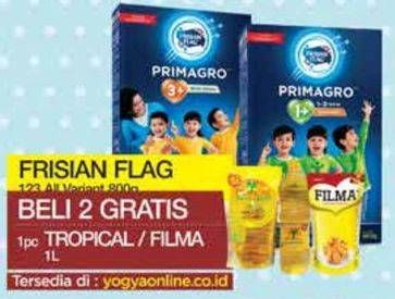Promo Harga FRISIAN FLAG 123 Jelajah All Variants 800 gr - Yogya