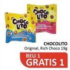 Promo Harga SOBISCO Choco Lito Rich Original, Rich Choco 19 gr - Alfamidi