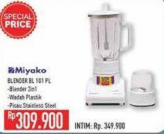 Promo Harga MIYAKO BL-101 Blender PL 1000 ml - Hypermart