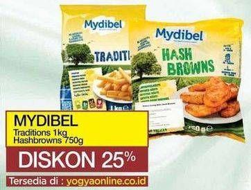 Promo Harga MYDIBEL MYDIBEL Traditional/Hash Browns  - Yogya